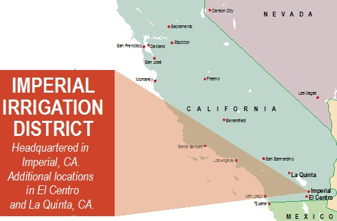Imperial Irrigation District Economic Development - Southern california map la quinta